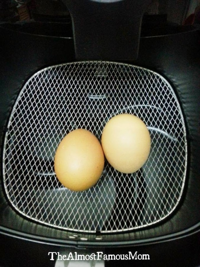 Airfryer Hard-Boiled Eggs | KeepRecipes: Your Universal
