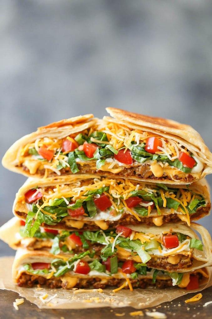 Homemade Crunch Wrap Supreme | KeepRecipes: Your Universal