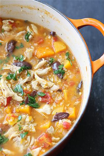 Chicken Order Fresh Vegetable Soup