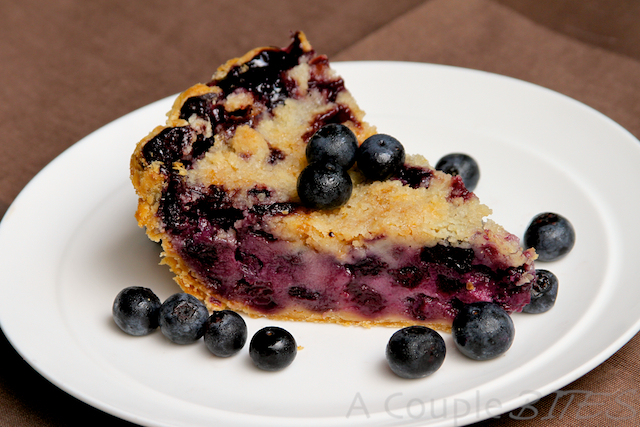Blueberry Sour Cream Pie  KeepRecipes Your Universal