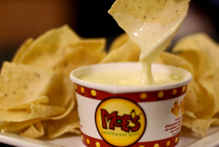 Moes Famous Queso Recipe  KeepRecipes Your Universal Recipe Box