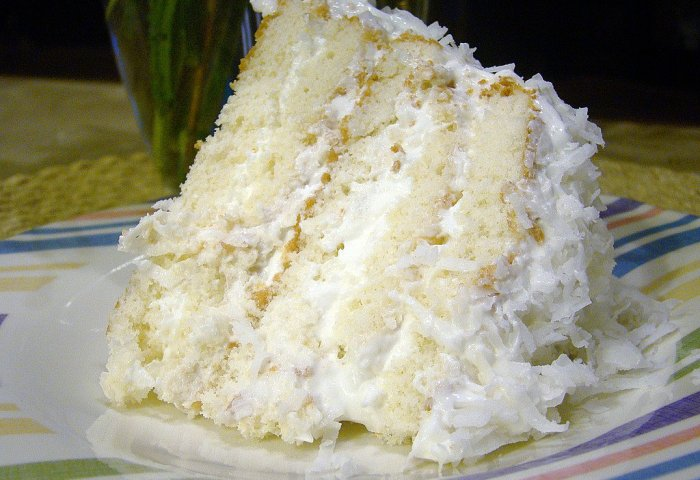 Easy Coconut Refrigerator Cake Keeprecipes Your Universal Recipe Box