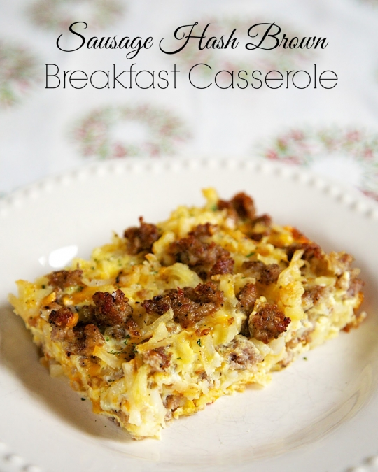While skillet heats, prepare onion and crab as directed above. Sausage Hash Brown Breakfast Casserole | KeepRecipes: Your ...