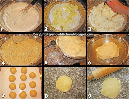 cut gloves for kitchen lighting fixtures filipino style chicken empanada *step-by-step guide ...