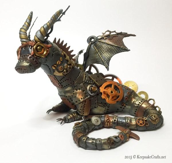 Steampunk Sculpture - Keepsake Crafts