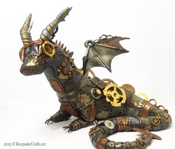 Steampunk Dragon - Keepsake Crafts