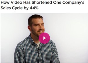 Video shortened sales cycle by 44%