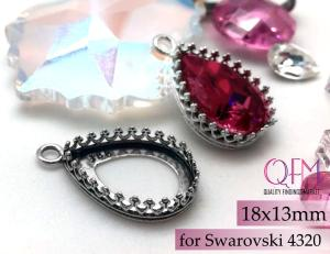 18x13mm teardrop setting from QFM on Etsy
