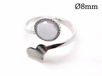 8mm round ring