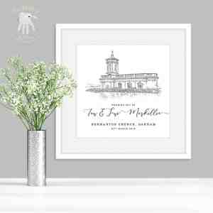 Wedding Venue keepsake