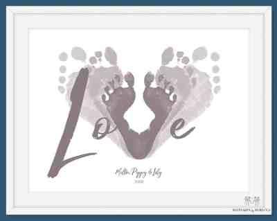 family footprint keepsake