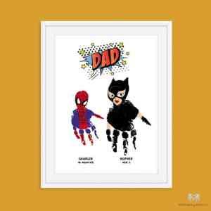 Superhero DAD/ GRANDAD