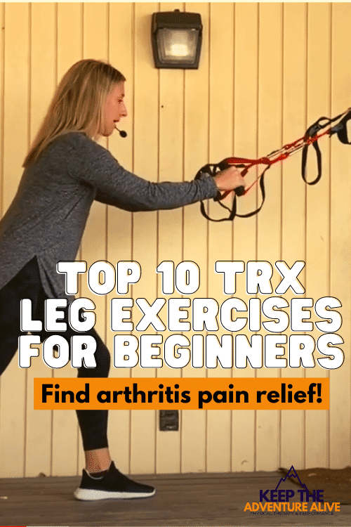best TRX leg exercises