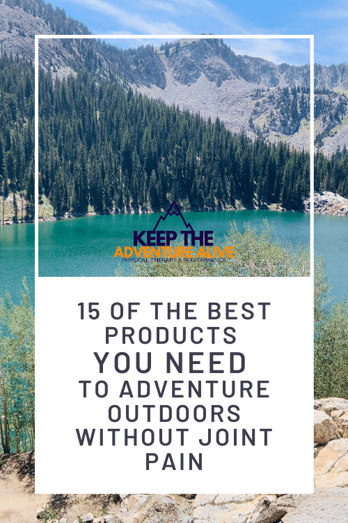adventure outdoors with arthritis