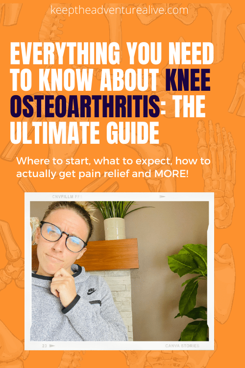 ultimate guide to knee osteoarthritis