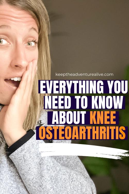 what is knee osteoarthritis