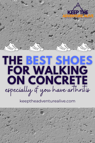 best shoes for walking on concrete