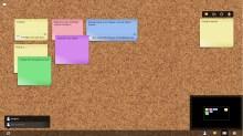 Un exemple de tableau avec plusieurs post-its. Remarquez qu'on peut même insérer des documents ou images en lien dans les notes.