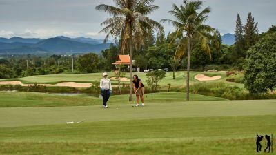 Banyan Golf Club mit Caddie