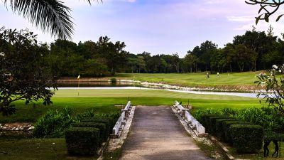 Springfield Golf Club Blick aufs Gruen