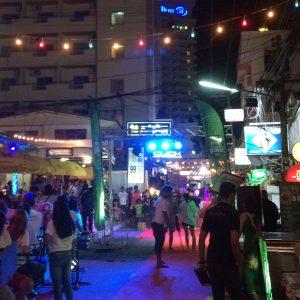 Hua Hin, das Nachtleben im August 2016