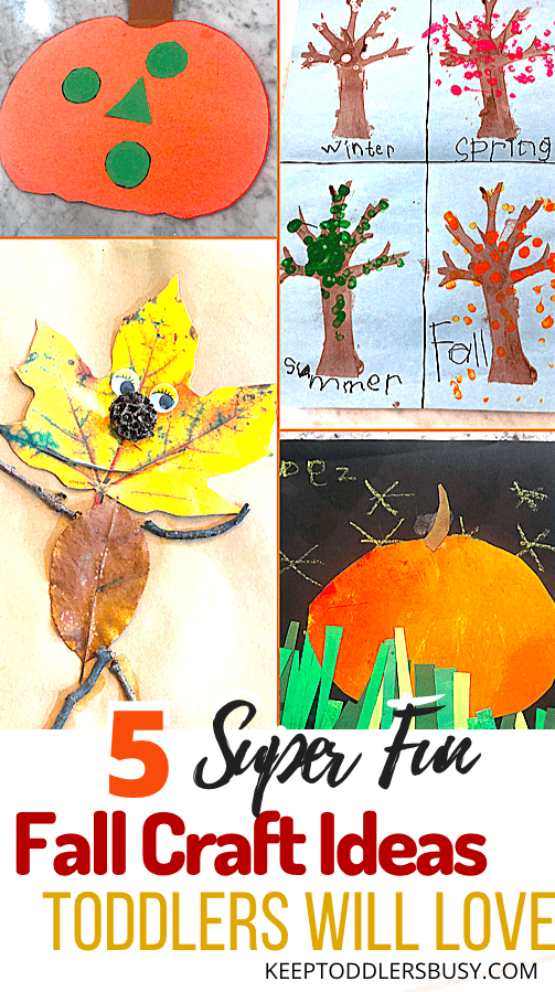 6 Super Easy Fall Craft Ideas Toddlers Will Love