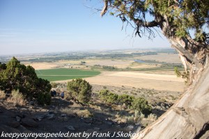 View from atop Menan Butte Idaho summit