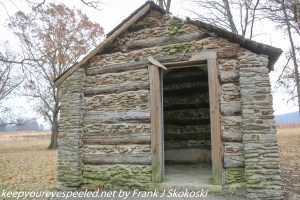 wood casbin at Valley Forge