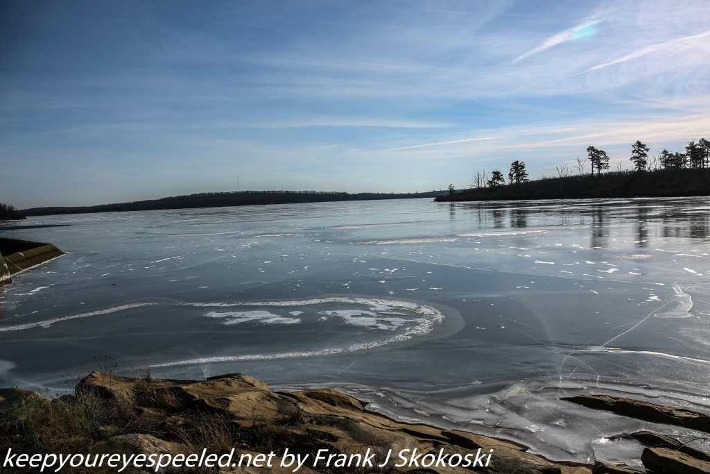 frozen Crystal Lake