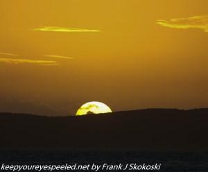 sunset  Copamarina resort