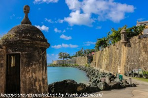 San Juan bay from outside old city wall