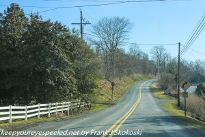 rural road in Berks County