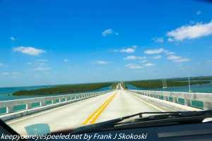 bridge over bay in keys