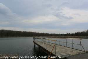 pier on Lake Irena