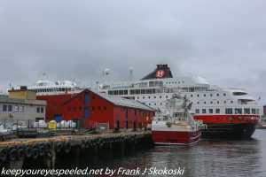 MS Finnmark arriving in port