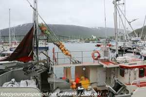boats in dock Tromso