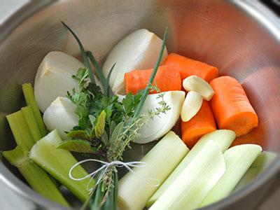 groenten voor soep