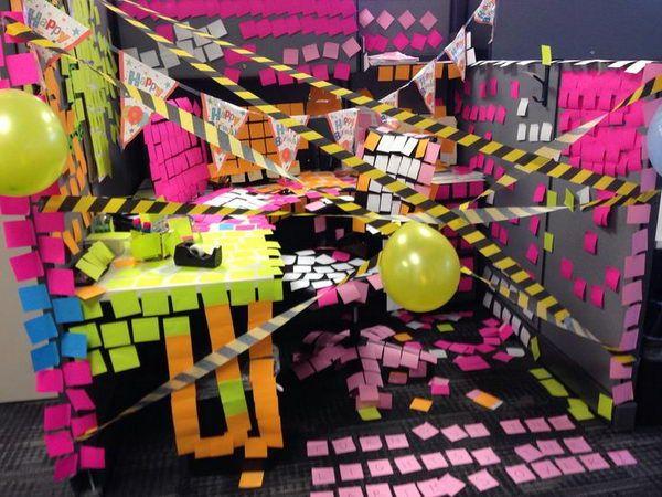 office birthday decorations 10 Office birthday ideas that don't involve sheet cake | Art Inspiration | Inspiration | Art