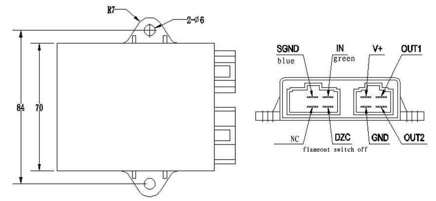 yamaha virago 250 wiring diagram bulldog remote start diagrams cdi super shadow pinout cableado instalacion control de ignición | keeway ...