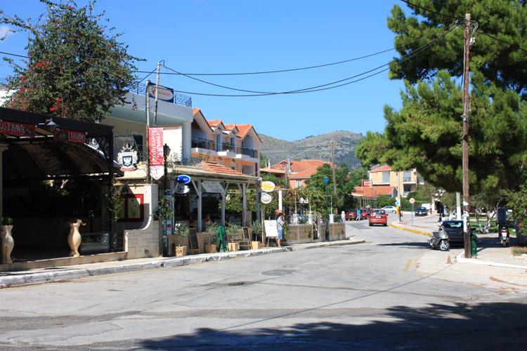 Il paese di Skala sullisola di Cefalonia