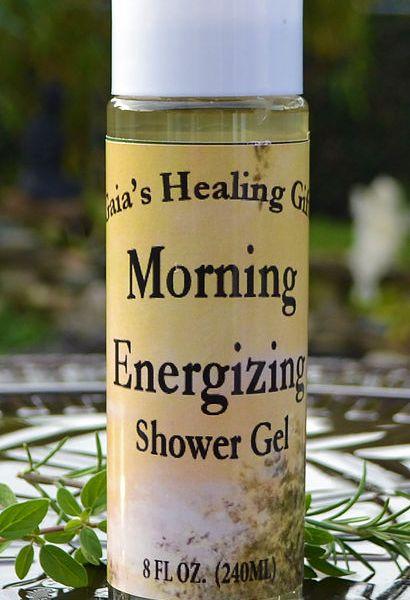 morning shower gel