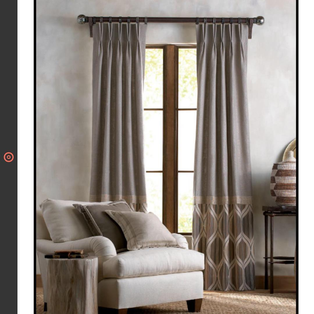 We love window treatments! What inspires you? letscreate windowtreatments silkdrapeshellip