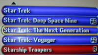 star trek search screen