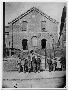 Kegworth Baptist Chapel about 1865