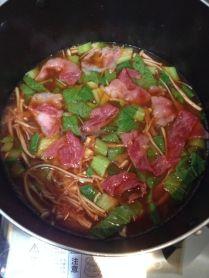 Kimchi Nabe with beef