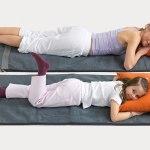 Bemer hoitoalustalla kaksi ihmistä makaa