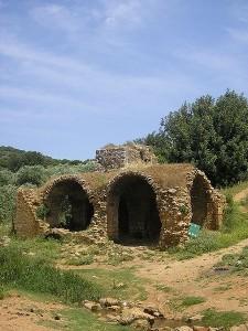 טחנת קמח עתיקה סמוך לצלמון המקורי