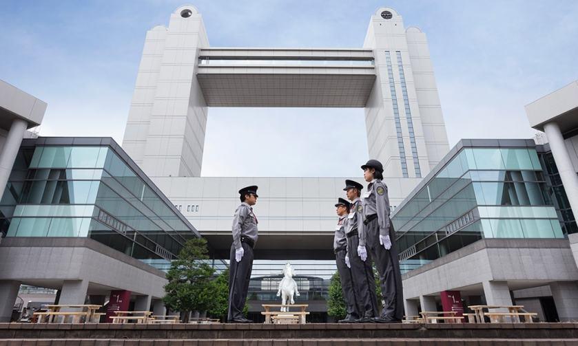 栄のランドマーク 愛知県芸術文化センター 施設常駐警備