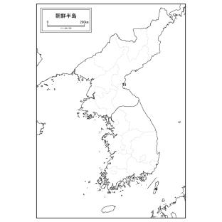 朝鮮半島は虎の形