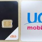 黒いSIMカードと白いSIMカード